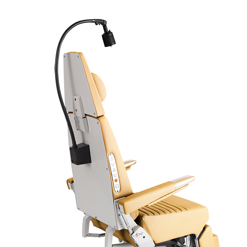 Chair mount exam light